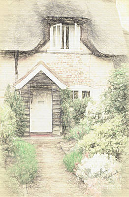 Photograph - Thatched Cottage by Diane Macdonald
