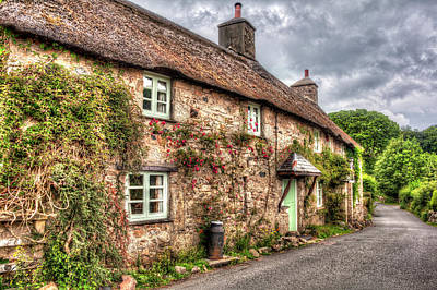 Photograph - Thatched Cottage 03 by Beverly Cash