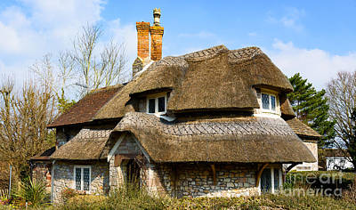 Photograph - Thatched Cottage by Colin Rayner