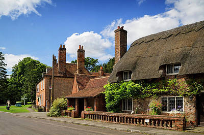 Photograph - Thatched Cottages In Chawton 6 by Shirley Mitchell