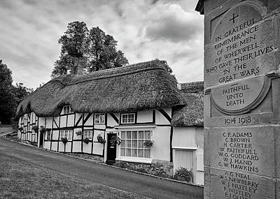 Photograph - Thatched Cottages Of Hampshire 13 by Shirley Mitchell