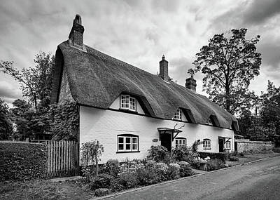 Photograph - Thatched Cottages Of Hampshire 4 by Shirley Mitchell