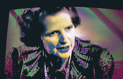 Liberal Mixed Media - Thatcher by Shay Culligan