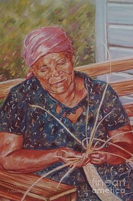 Weaving Painting - Thatching by John Clark
