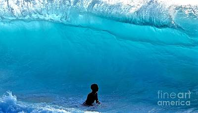 Fearlessness Photograph - That's A  Wave - Kekaha Beach by Debra Banks