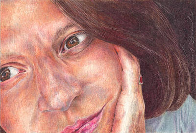 Drawing - That's Me  by Melissa J Szymanski