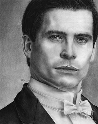Collier Drawing - That's Mr. Barrow To You by Amanda Shanks