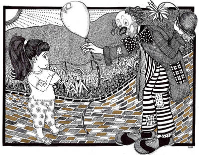 Thats Not A Hot Air Balloon Print by Lenora Brown