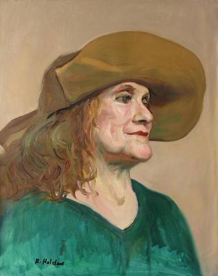 Painting - That's Some Hat by Robert Holden