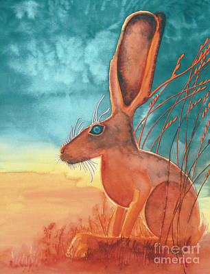 Jack Rabbit Painting - Thats Some Kind Of Jack by Tracy L Teeter