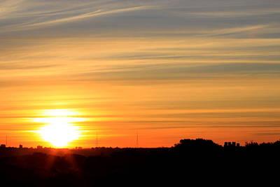 Photograph - Thats Where Sun Sets In September by Miroslava Jurcik