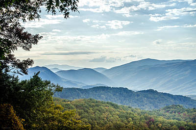 Photograph - That's Why They Call It Smoky Mountains by Debbie Karnes