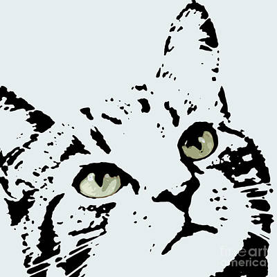 Personalized Drawing - Thats Willie Pet Portrait by Pablo Franchi