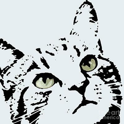 Thats Willie Pet Portrait Art Print by Pablo Franchi