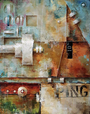Painting - The 10th Ping by Ken Berman