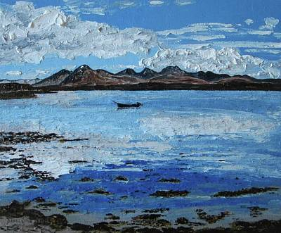 Painting - The 12 Bens Connemara by Diana Shephard