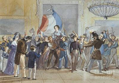 Revolution Painting - The 1830 Revolution by Celestial Images