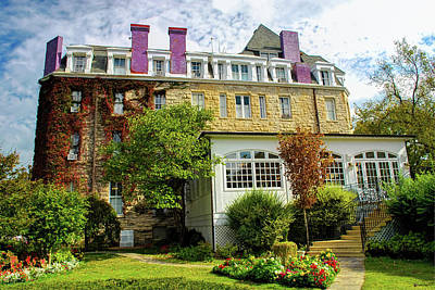 Photograph - The 1886 Crescent Hotel - Eureka Springs Arkansas by Gregory Ballos