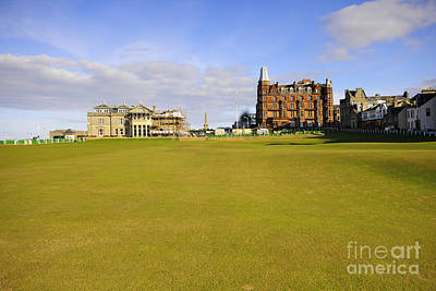 Scottish Landscape Photograph - The 18th by Smart Aviation