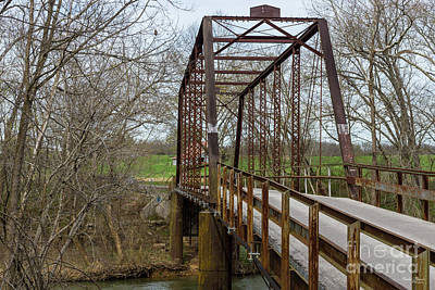 Photograph - The 1912 Green Bridge by Jennifer White