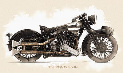 The 1936 Velocette Original by Don Kuing