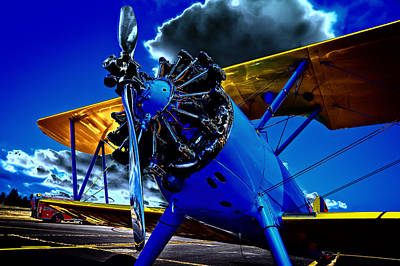 Photograph - The 1940 Stearman Kadet by David Patterson