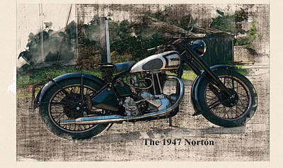 The 1947 Norton Original by Don Kuing
