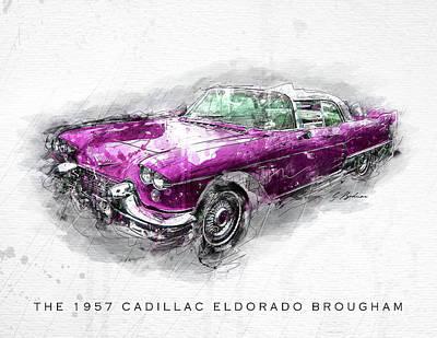 The 1957 Cadillac Eldorado Brougham Art Print