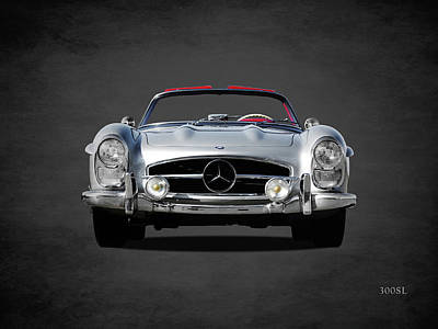 Mercedes Benz Photograph - The 1958 300sl by Mark Rogan