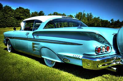 Photograph - The 1958 Chevy Impala by David Patterson