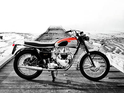 Transport Photograph - The 1962 T120 by Mark Rogan