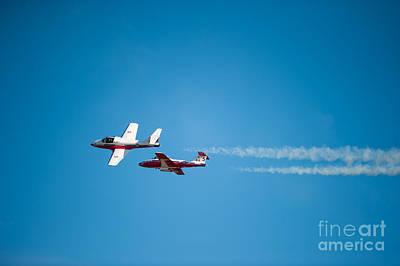Photograph - The 2 Snowbirds by Wayne Wilton