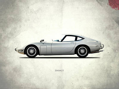 Toyota Photograph - The 2000gt by Mark Rogan