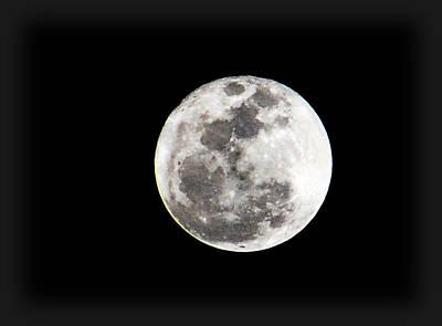 Photograph - The 2011 Moon by Amanda Vouglas