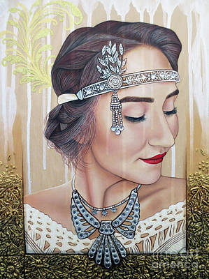Painting - The 20s Reborn by Malinda Prudhomme
