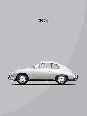 Wall Art - Photograph - The 356 1958 by Mark Rogan