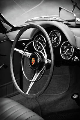 The 356 Roadster Art Print by Mark Rogan