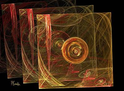 Digital Art - The 3d Envelope by Patricia Kemke
