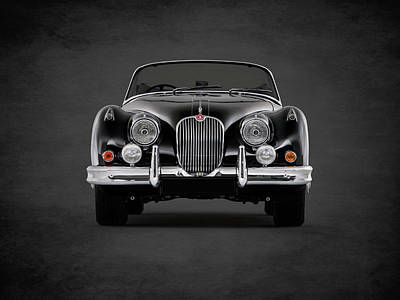 The 58 Xk150 Print by Mark Rogan