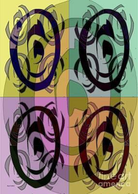 Mixed Media - The 5th Eye by Ann Calvo