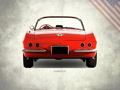 C1 Photograph - The 62 Corvette by Mark Rogan