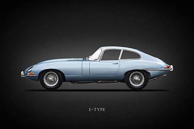 Photograph - The 65 E-type Coupe by Mark Rogan