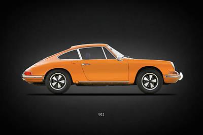 Porsche 911 Turbo Photograph - The 68 911 by Mark Rogan