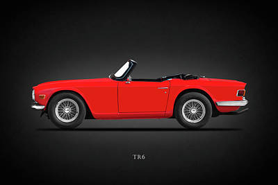 Photograph - The 69 Tr6 by Mark Rogan