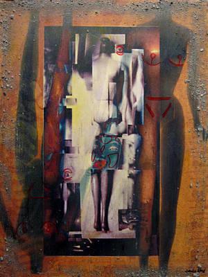 Digital Art - the 7 contemporary sins - Vanity by Janelle Schneider