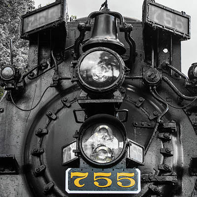 Photograph - The 755 by Stewart Helberg