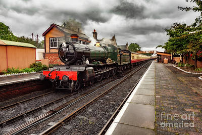 Photograph - The 7812 Loco by Adrian Evans
