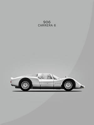 Porsche Carrera Photograph - The 906 Carrera 6 by Mark Rogan