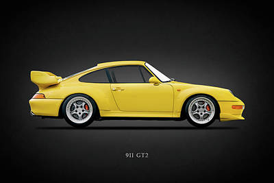 Photograph - The 911 Gt2 by Mark Rogan