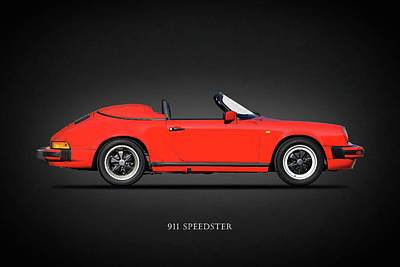 Photograph - The 911 Speedster by Mark Rogan